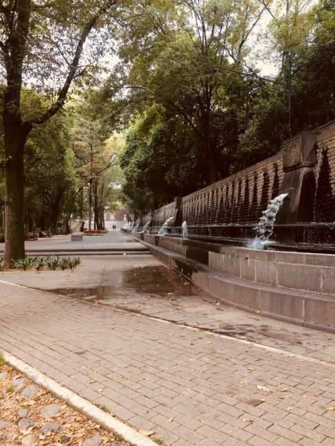 Chapultepec - parc- Chateau - mexico