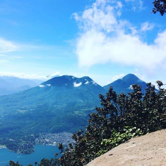 Volcan san pedro Atitlan-guatemala