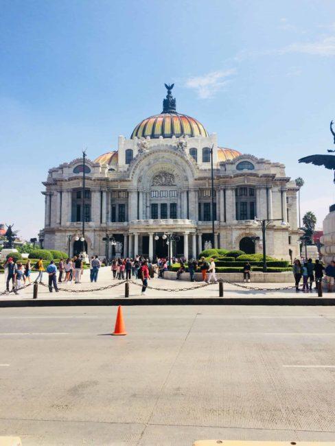 Belles artes-mexico city-mexique