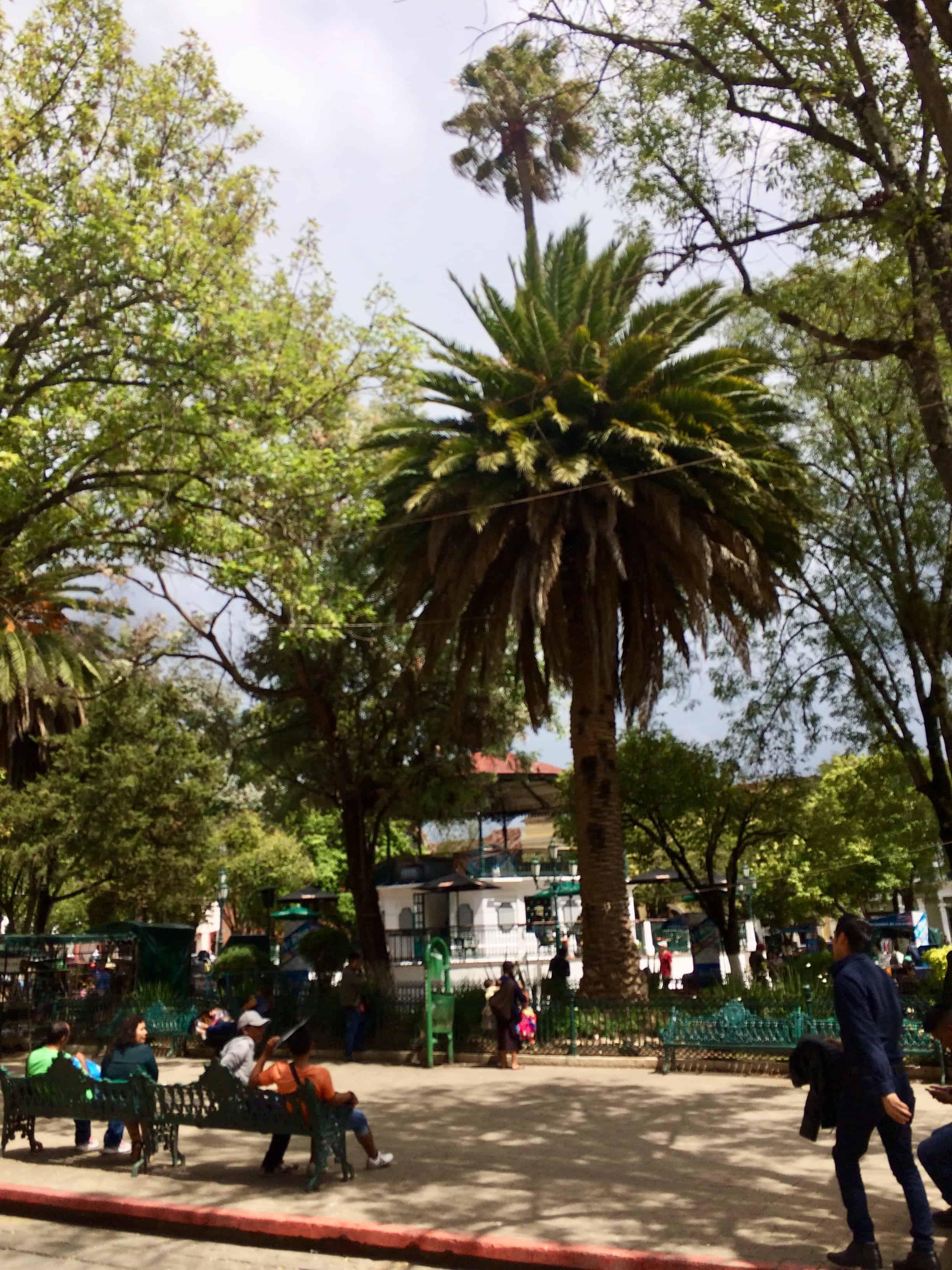 Place san Cristobal - mexique- chiapas