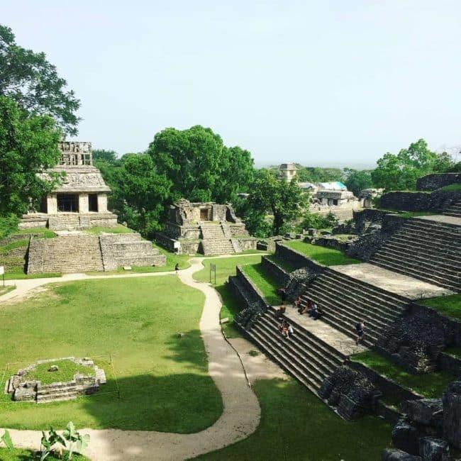 Ruines de Palenque-mexique-chiapas