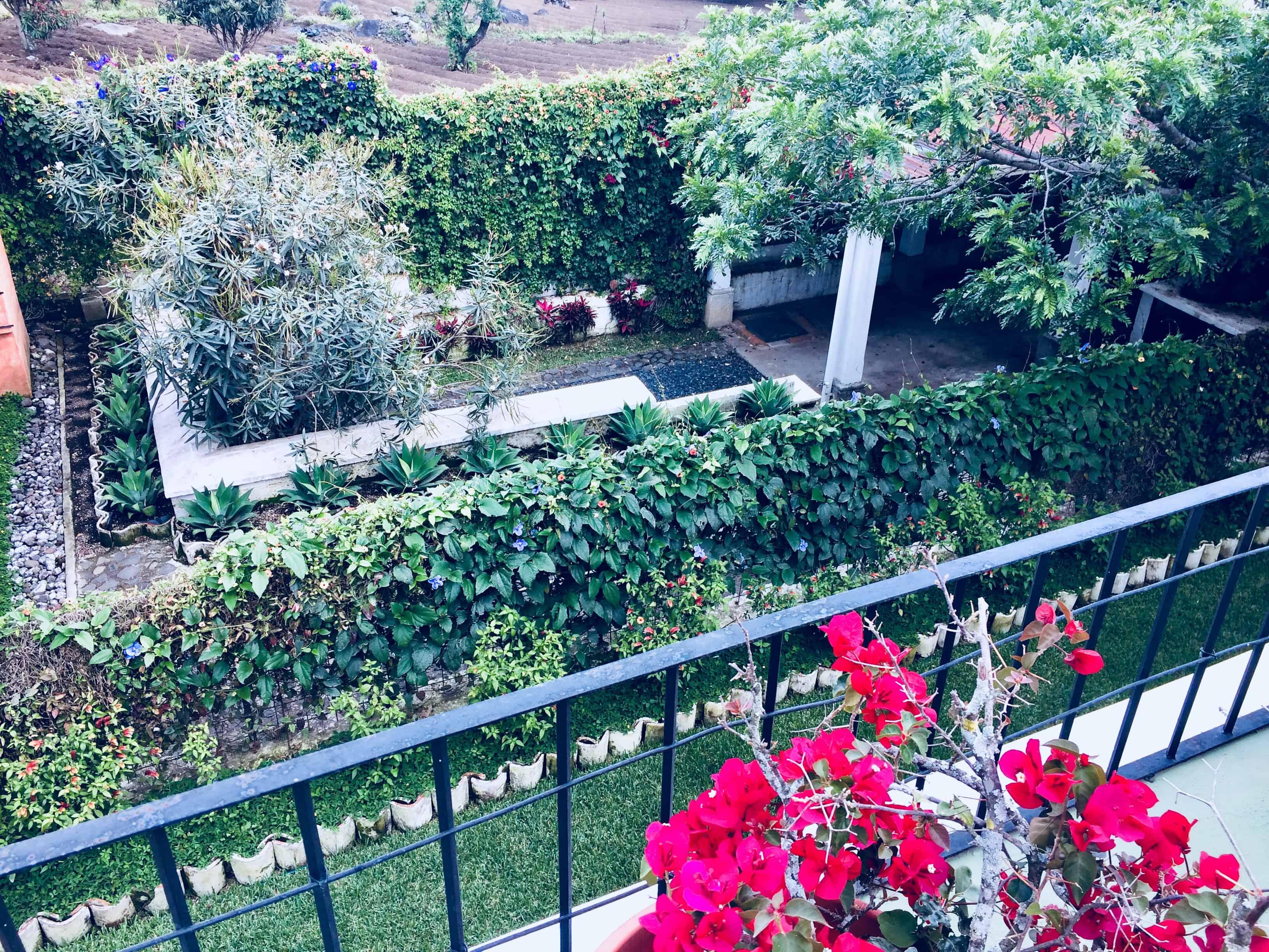 Jardin-Antigua guatemala
