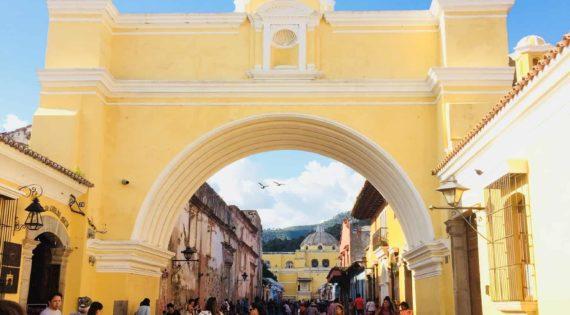 L'arrivée au Guatemala