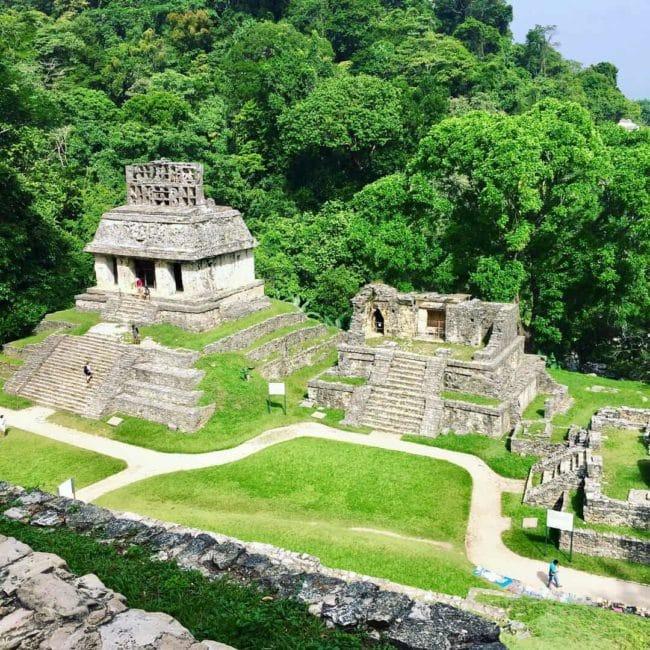 Ruine de palenque-maya-mexique