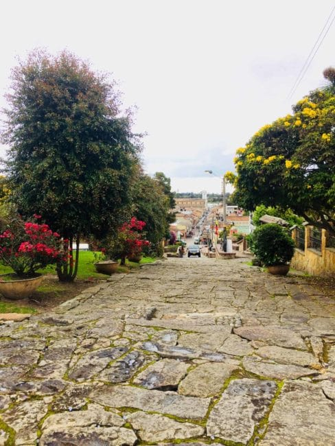 La jolie vue de Tenjo - Bogota - colombie