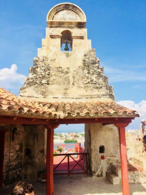 Building - Chateau - carthagène - colombie