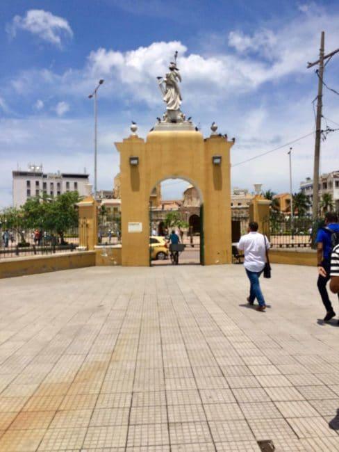 Monuments - carthagène - colombie