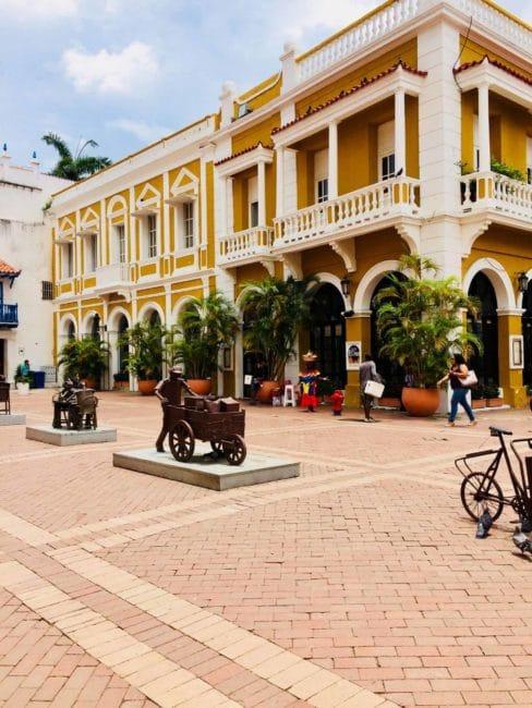Monuments - carthagène - colombie - rue - balade