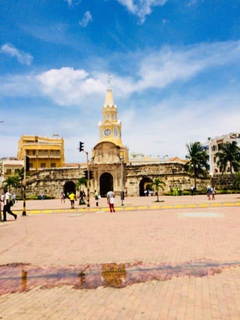 Monument - colombie - carthagène
