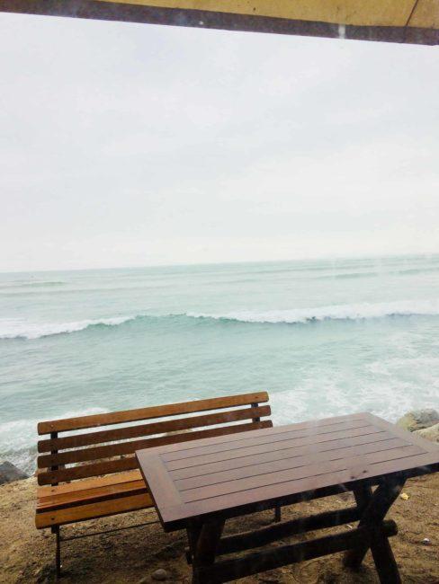 Lima-barranco-ocean pacifique-océan-Amérique du suc