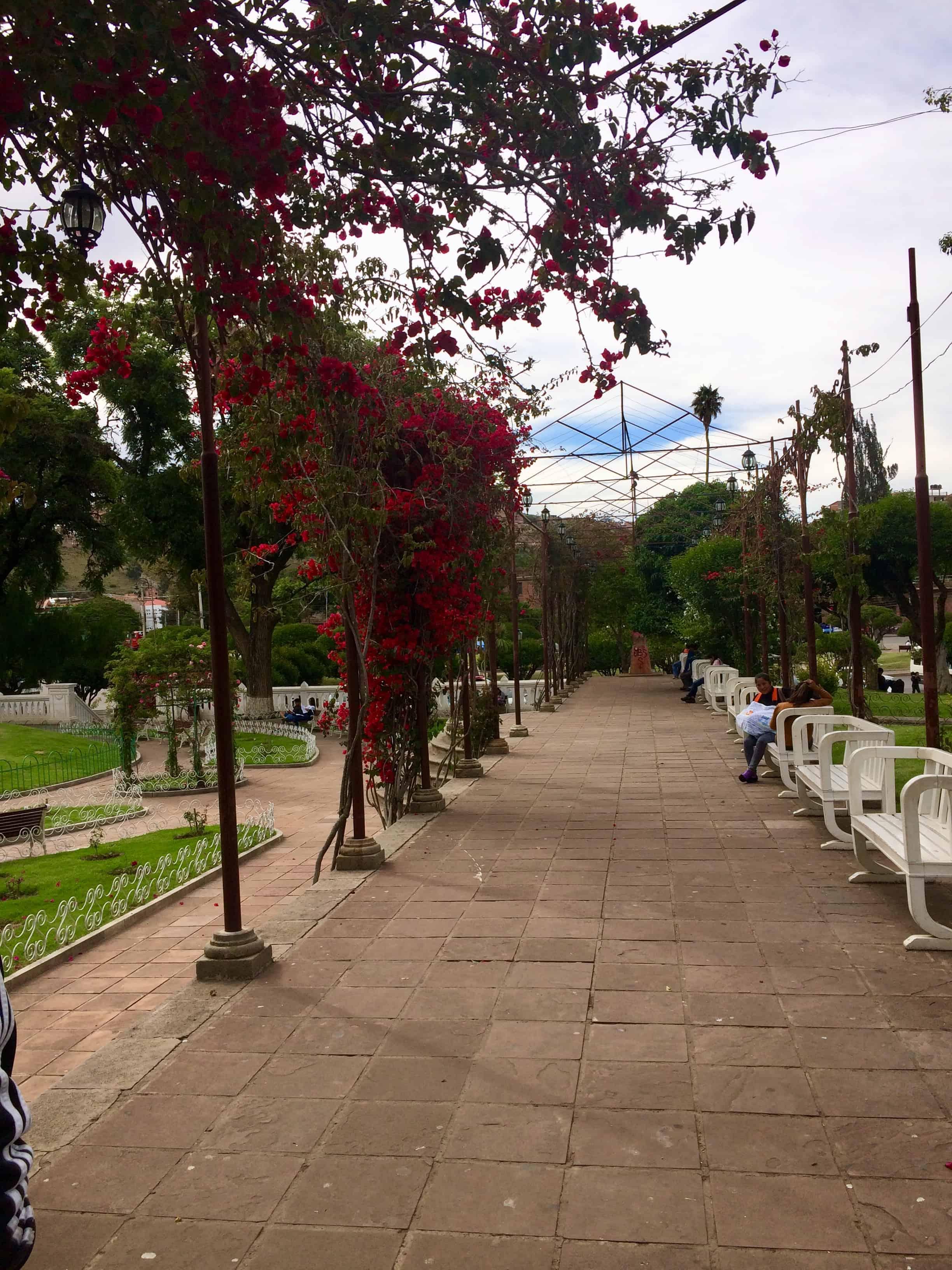 Sucre - Bolivie - balade - jolie ville