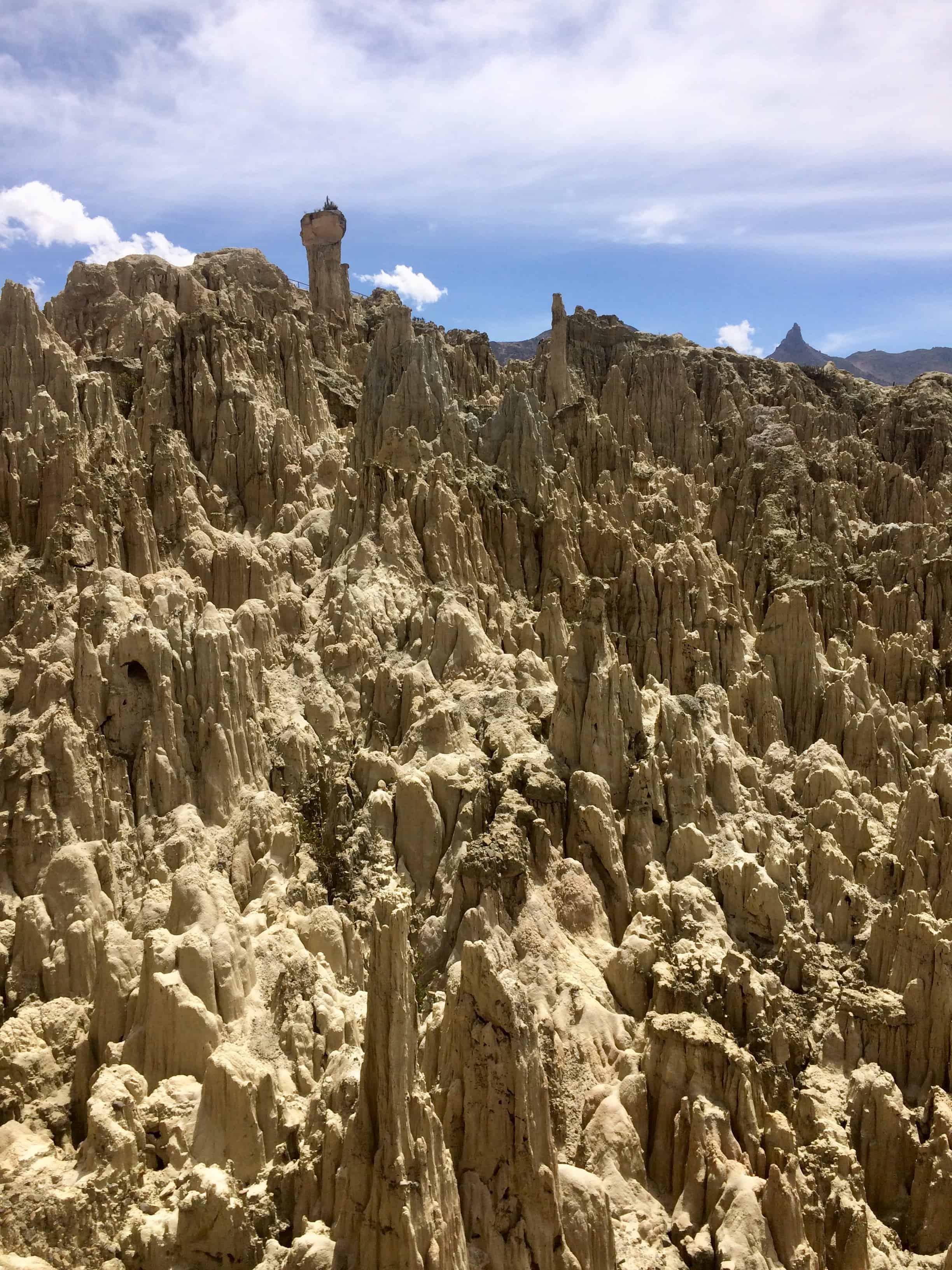 Vale de la Luna - la Paz - Bolivie - montagne - décors -