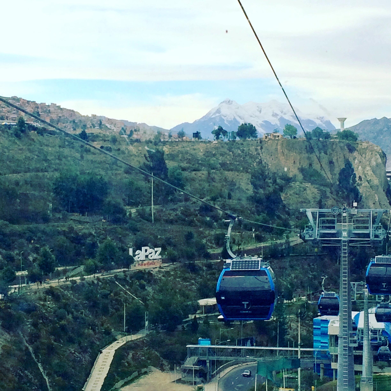 Vale de la Luna - la Paz - Bolivie - montagne - décors - -téléphérique