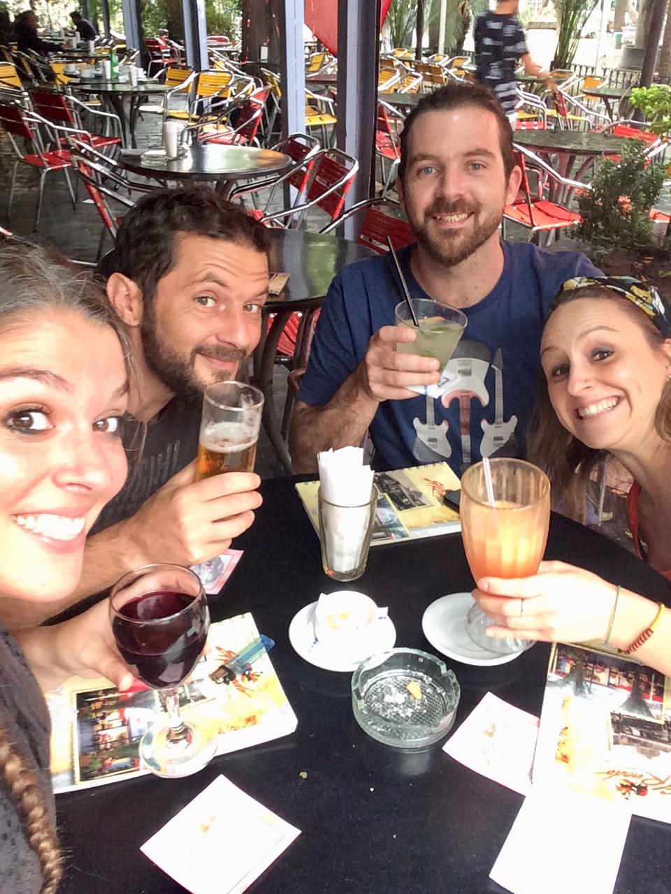 Vacances en famille - argentine - cordoba - Apero - belle ville - visite