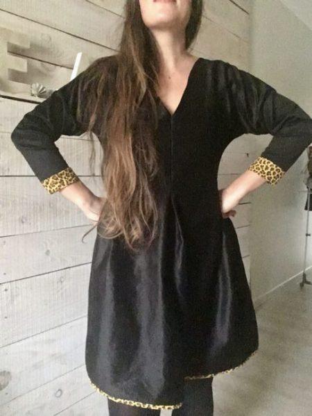 Tuto robe facile – Les jolis détails de Margaux version Hiver